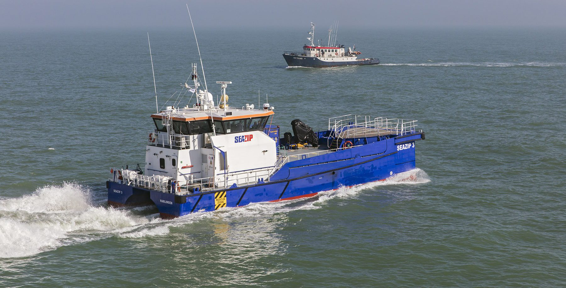 Mogelijkheid tot experimenteren ook op zee