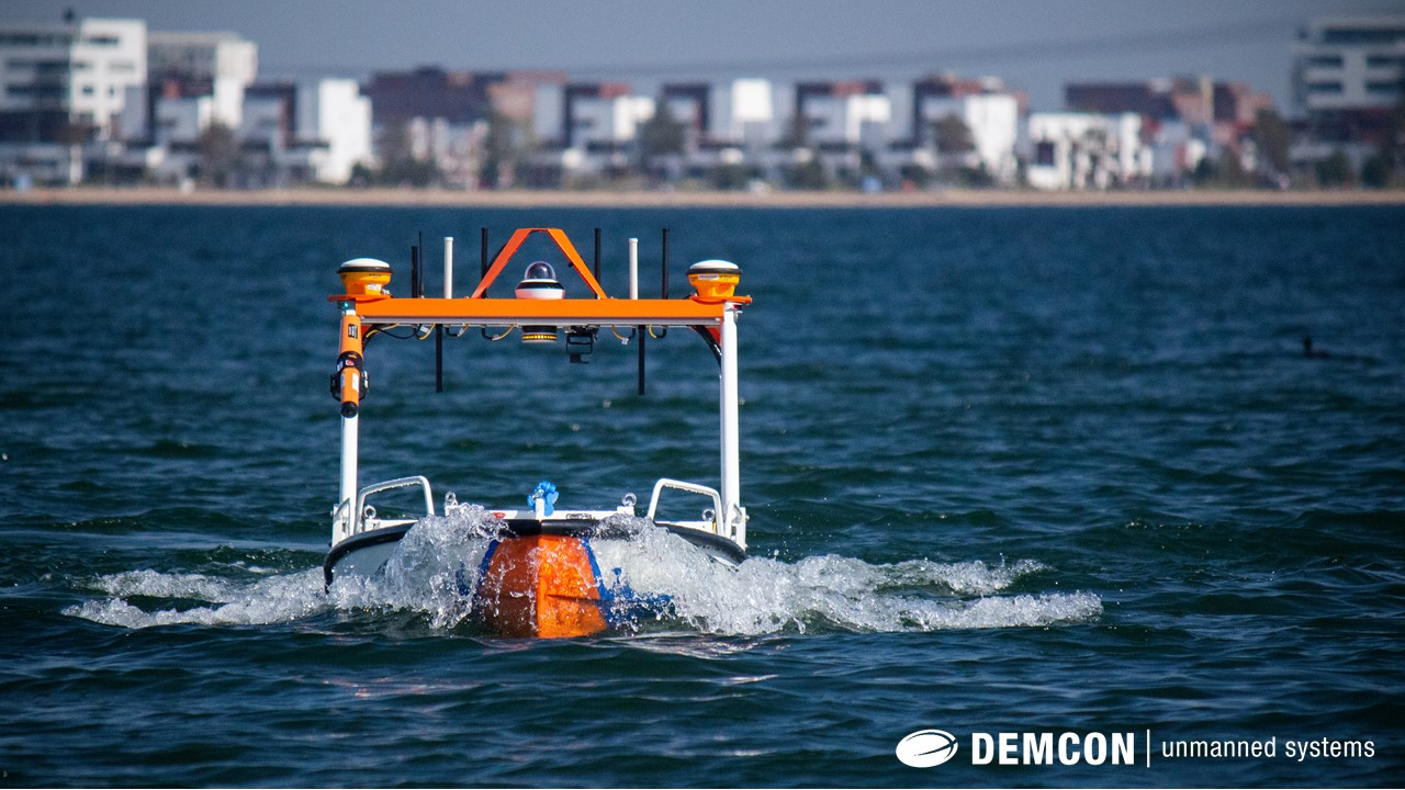 Eerste autonoom meetvaartuig Demcon D·USV ingezet door Van Oord
