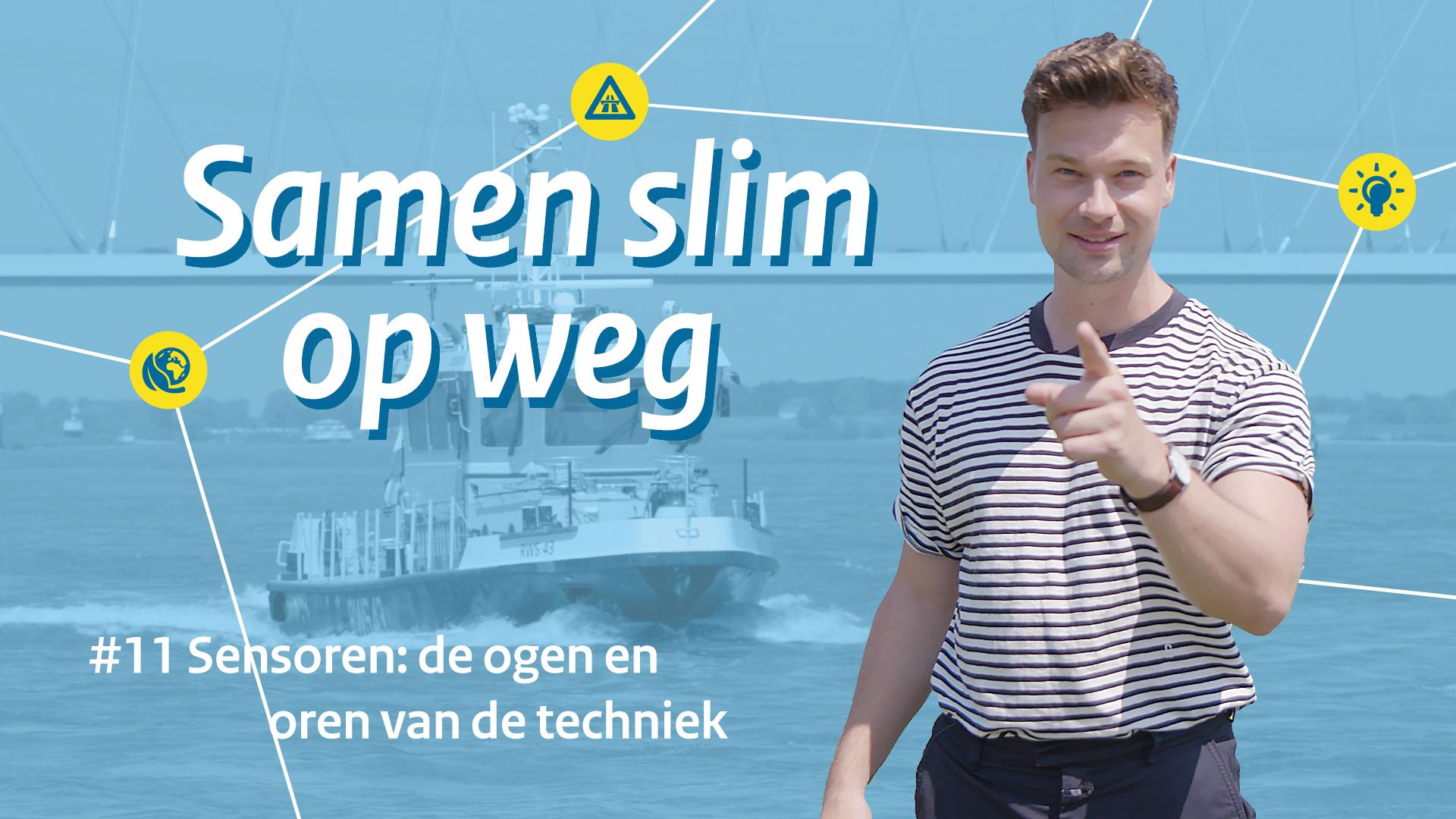 CoVadem vertelt over hun sensoren in de nieuwste 'Samen slim op weg' vlog van Rijkswaterstaat